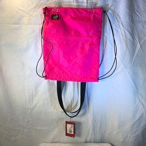 Nike reversible running Drawstring backpack New!
